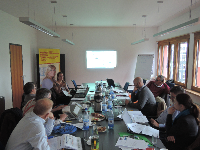 The ADAPT project partners in Berlin
