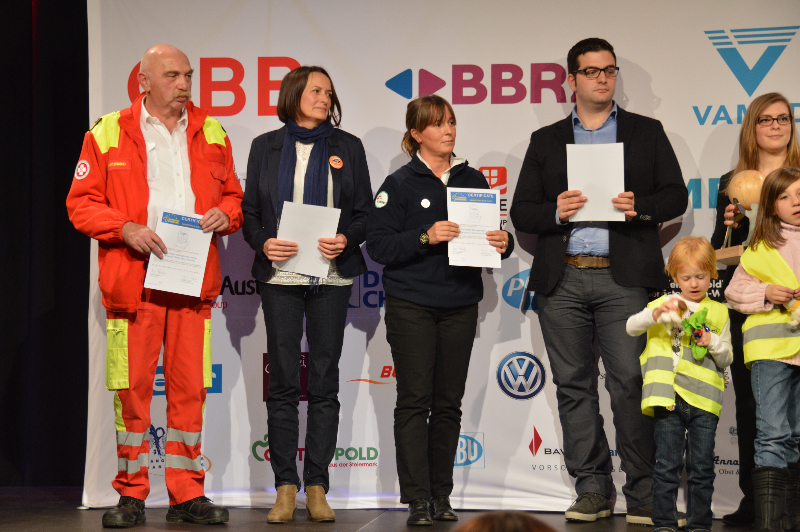 1. Platz: SAMETS - Social Affairs Management in the Emergency Temporary Shelter. Foto: ASBÖ