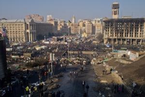 Euromaidan Feb 21 2014, CC-BY-SA Wikimedia Commons User Amakuha