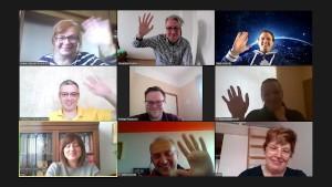 Virtual TECS project meeting on 1 April 2021