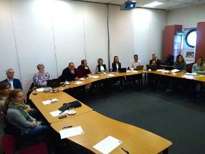 Workshop zu EU-Förderprogrammen in Brüssel gehalten
